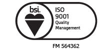 Wider Plan – ISO 9001 certified by BSI under certificate number FM564362